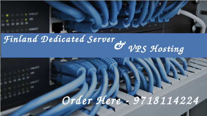 Finland Dedicated server and VPS Hosting