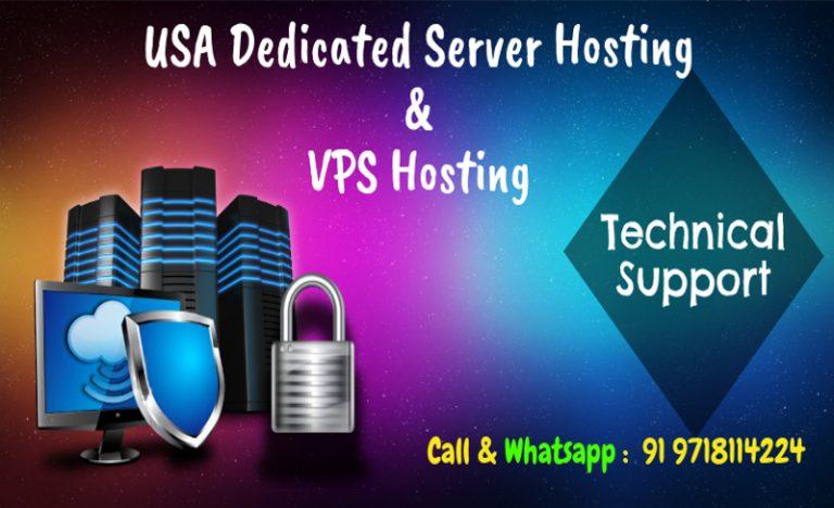 USA Dedicated Server Hosting | VPS Hosting Plans For Web Apps