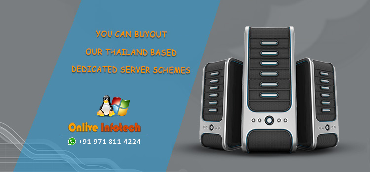 You can Buyout Our Thailand based Dedicated Server Schemes