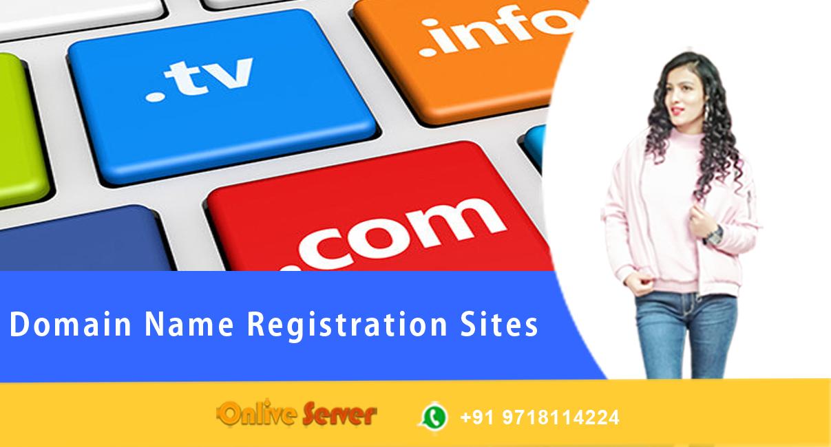 Domain Name Registration Sites