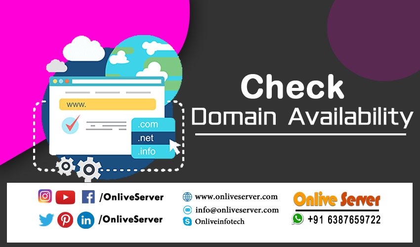 To Check Domain Availability